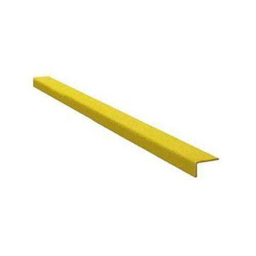 Protiskluzový profil na schody, úzký, žlutý, 100 cm