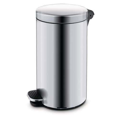Kovové odpadkové koše Basic, objem 30 l, Kapacita: 30 L, Materiá