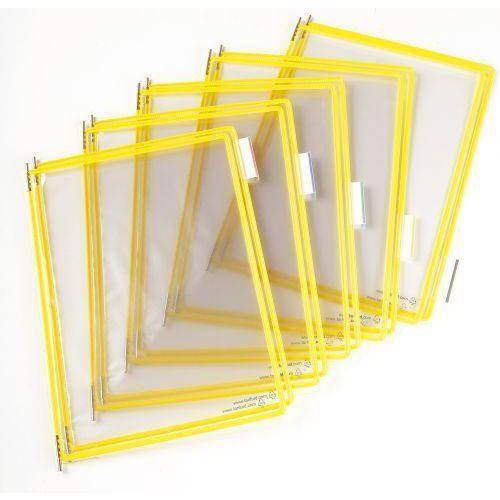 Informační rámečky Tarifold A4, 10 ks, žluté