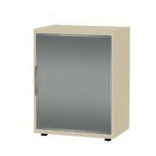 Nízká široká skříň, 75 x 60 x 40 cm, s roletou - pravé provedení