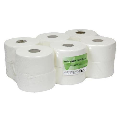 Toaletní papír Thin 2vrstvý, 19 cm, 120 m, bílý, 12 rolí