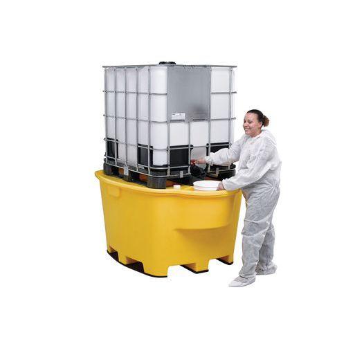 Plastové záchytné vany pod IBC a KTC kontejnery - Prodloužená záruka na 10 let