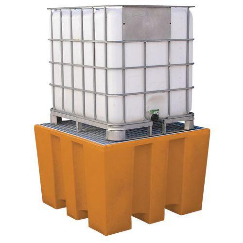 Plastové záchytné vany Manutan pod IBC a KTC kontejner