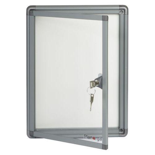 Magnetická vitrína Alcor Grey, jednokřídlá, 2 x A4
