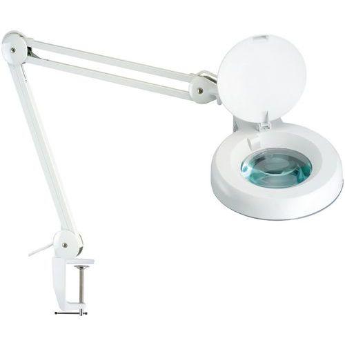 Laboratorní lampa Manutan Jay s kruhovou lupou, 22 W