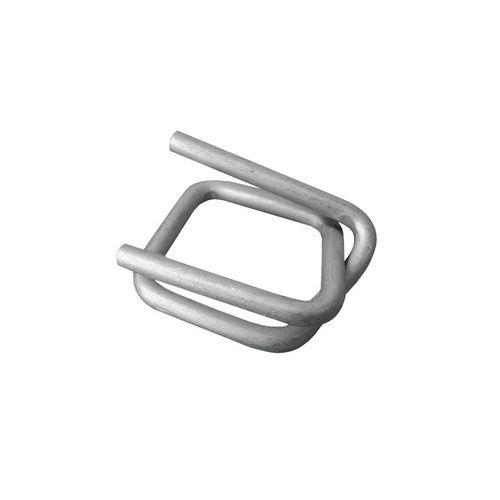 Ocelové pozinkované spony pro páskovače, drátové, 26 mm