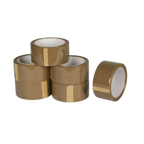 Lepicí páska, šířka 48 mm, hnědá
