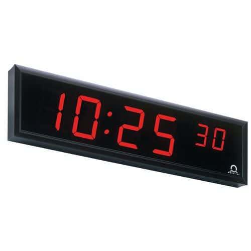 Digitální interiérové hodiny, jednostranné, nástěnné