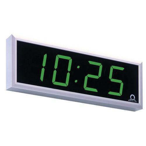Digitální hodiny, jednostranné, stropní závěs 10 cm