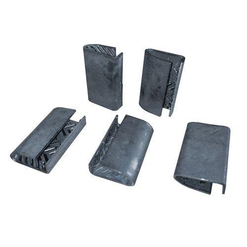 Ocelové spony pro páskovače, 14 mm