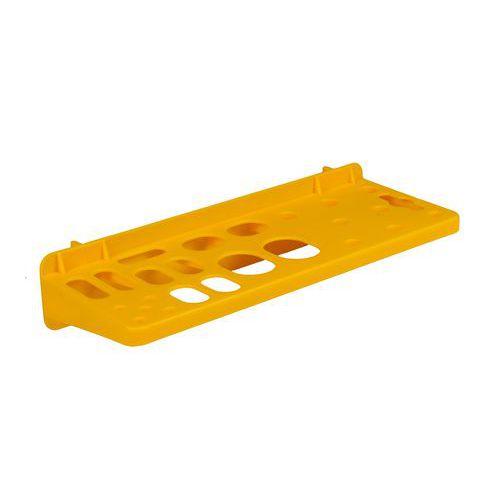 Držák na nářadí, Délka: 230 mm, Materiál: plast, Barva: Žlutá