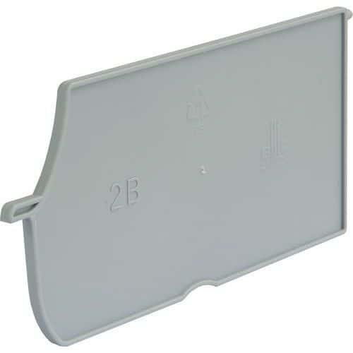 Dělicí přepážky podélné k boxům PP