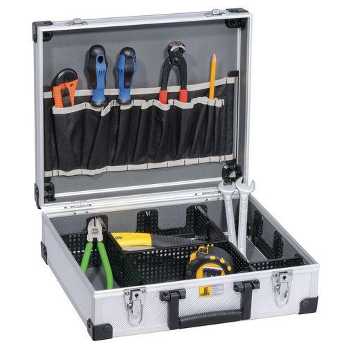 Allit 425100 Hliníkový kufr na nářadí AluPlus Tool 16