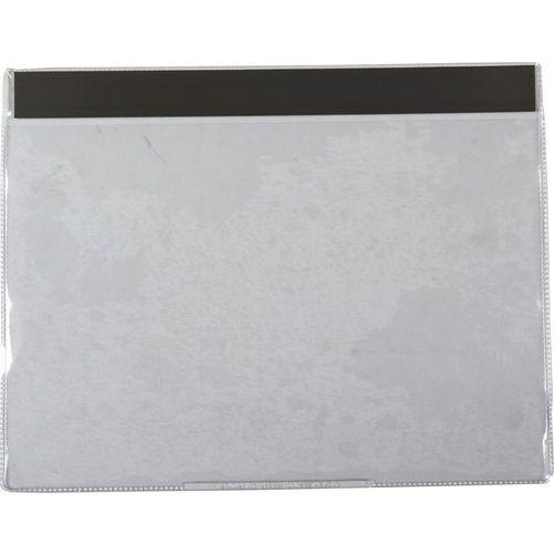 Informační kapsy Manutan, A5, magnetické, 10 ks