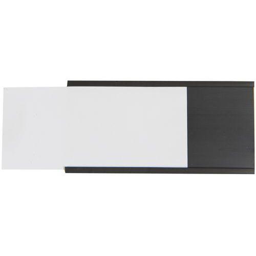 Manutan Držák etiket na regály, magnetický, 40 x 80 mm