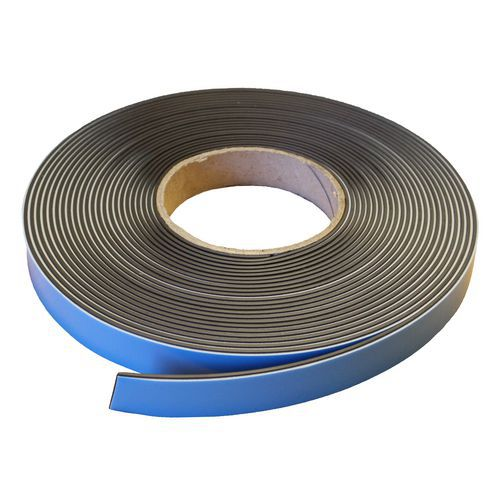 Lepicí magnetická páska Manutan na regály, magnetická/samolepicí