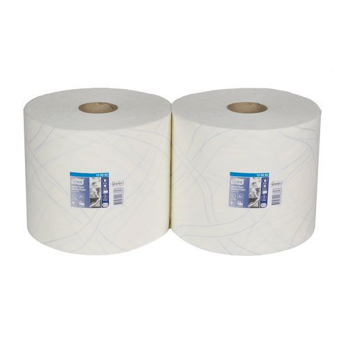 Průmyslové papírové utěrky Tork Advanced 430 White 2vrstvé, 500 útržků, 2 ks