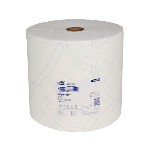 Průmyslové papírové utěrky Tork Advanced 430 White 2vrstvé, 1 000 útržků