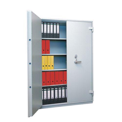 Trezorová skříň Boyne, bezpečnostní třídy 0, šedá, 1950 x 1260 x 550