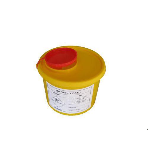 Nádoba na zdravotní odpad, malá, 1 l - Prodloužená záruka na 10 let