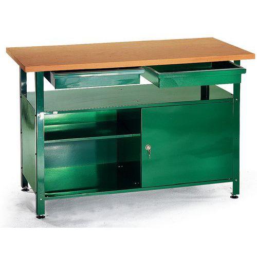 Dílenský stůl Greeny, 80 x 120 x 60 cm