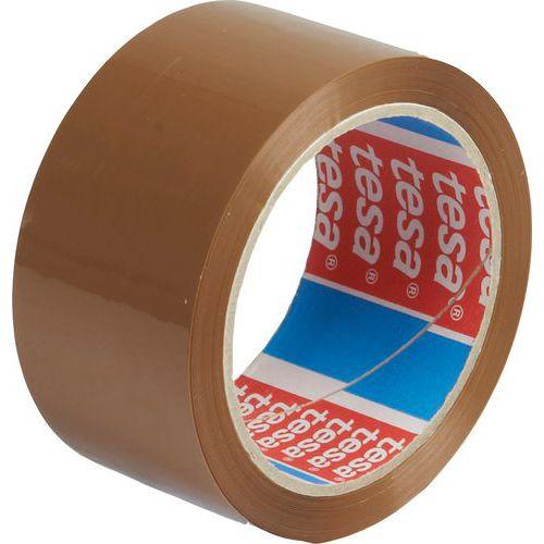 Tesa Balicí páska STRONG PP, akrylát, nehlučné odvíjení, hnědá, 66m x 50mm