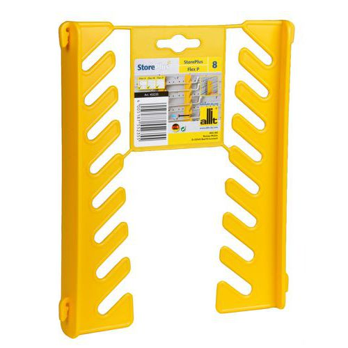 Držák na maticové klíče, Materiál: plast, Barva: Žlutá