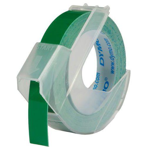 Dymo originální páska do tiskárny štítků, Dymo, S0898160, bílý tisk/zelený podklad, 3m, 9m