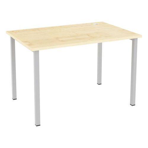 Kancelářský stůl Abonent, 120 x 80 x 75 cm, rovné provedení, dez