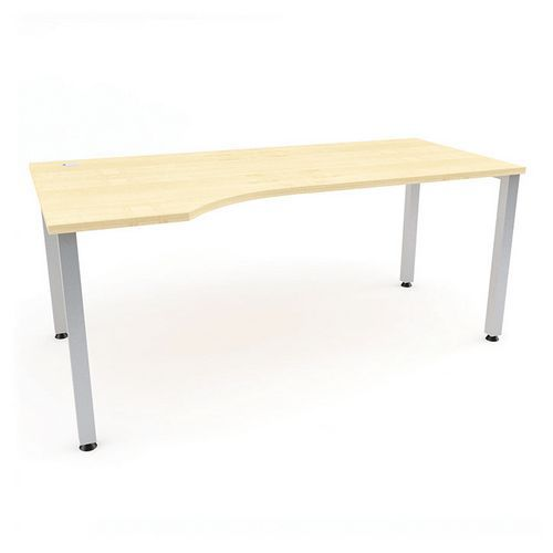 Ergo kancelářský stůl Abonent, 180 x 100 x 75 cm, levé provedení