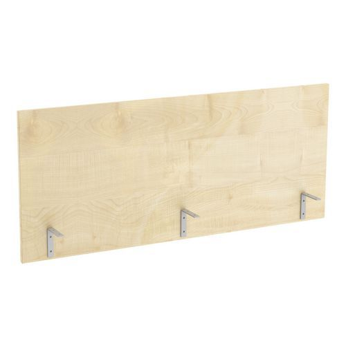 Stolový paraván Abonent, 120 x 51 cm, dezén javor