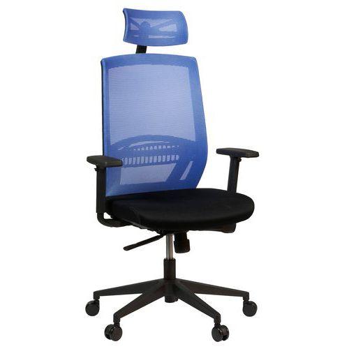 Kancelářská židle Above, modrá