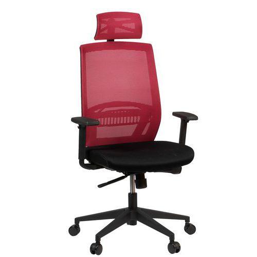 Kancelářská židle Above, vínová