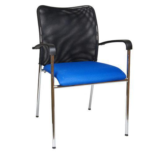 Konferenční židle Spider, modrá