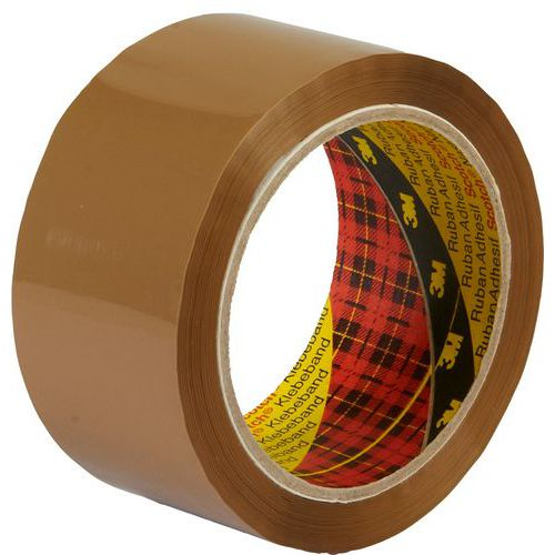 SCOTCH Hnědá balicí páska 66 m x 5 cm