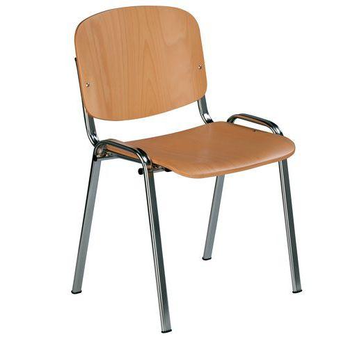 Dřevěná jídelní židle Sylva Chrom - Prodloužená záruka na 10 let