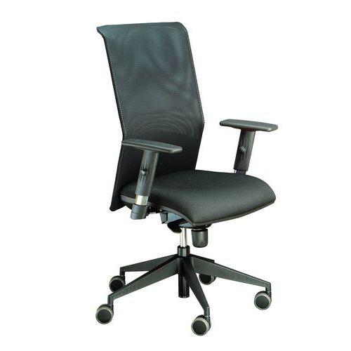 Kancelářská židle Flex, černá