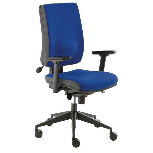 Kancelářská židle Yoki VIP, modrá