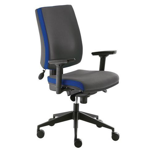 Kancelářská židle Yoki VIP, antracit