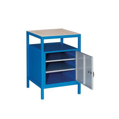 Svařovaný dílenský stůl Rivt, 85 x 57,2 x 59,2 cm - Prodloužená záruka na 10 let