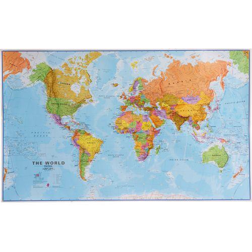 Politická mapa světa, 200 x 120 cm