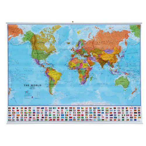 Politická mapa světa, 136 x 100 cm