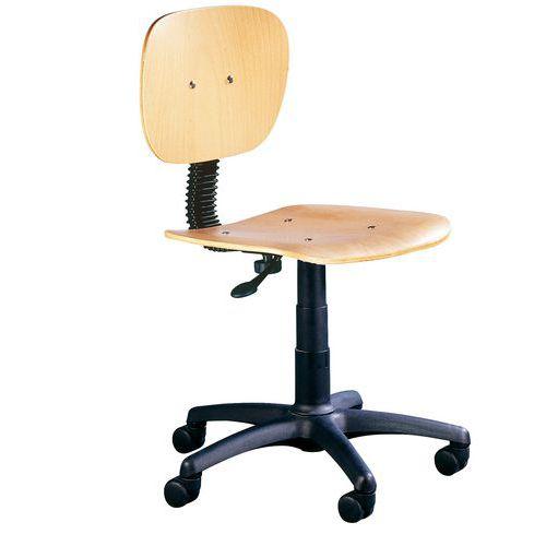 Pracovní židle Natura s kolečky