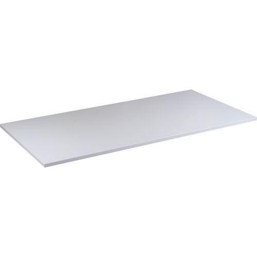 Deska jednacího stolu Combi, 160 x 80 cm, rovná, šedá