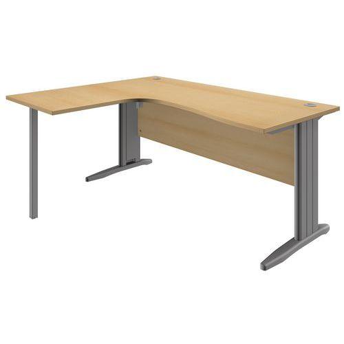 Kancelářský stůl System, 160 x 140 x 73 cm, levé provedení, dezé