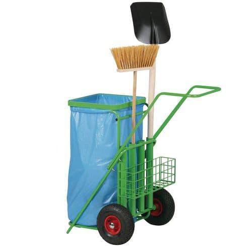 Venkovní úklidový vozík