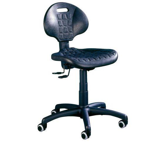 Pracovní židle Nelson SY s tvrdými kolečky - Prodloužená záruka na 10 let