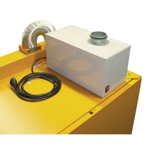 Odsávací ventilátor, s přípojkou DN 80