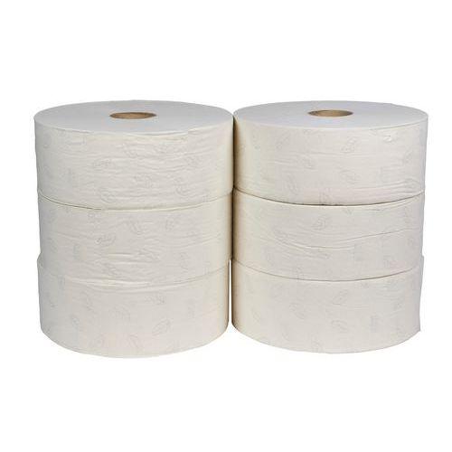 Toaletní papír Tork Advanced T1 2vrstvý, 26 cm, 1 800 útržků, bílá, 6 rolí