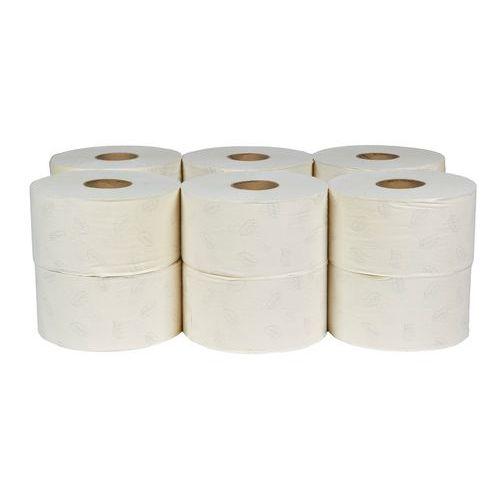 Toaletní papír Tork Advanced T1 2vrstvý, 19 cm, 850 útržků, bílá, 12 rolí